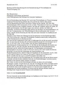 2125 - Haushaltsrede SPD Sandhausen - 1