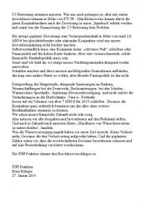 2126 - Haushaltsrede FDP Sandhausen - 2