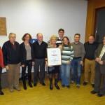 Else Wolf wurde Ehrenmitglied im Partnerschaftskomitee St. Ilgen/Tigy