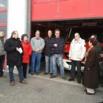 CDU Gemeinderats-Kandidaten informieren sich über die Freiwillige Feuerwehr