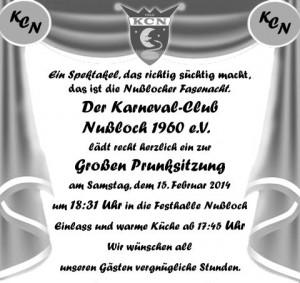 2298 - KCN Prunksitzung 2014 neu