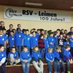 Jubiläumsjahr 100 Jahre VfB – Zur Winterfeier der Junioren: Ein VfB-T-Shirt für alle!