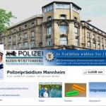 """Polizeidirektion Heidelberg  +++Dringend+++  Bitte Polizeipräsidium Mannheim """"liken"""""""