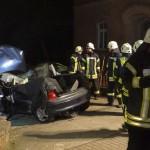 Schwerer Unfall in Nußloch – Zwei Schwerverletzte mit Rettungsschere befreit