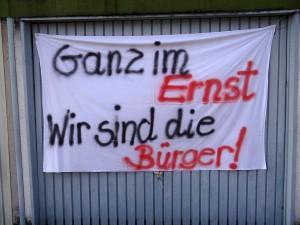 2408 - Lessingstrasse Protest - 3