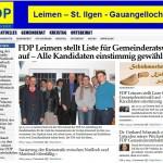 FDP Leimen mit neuer Homepage