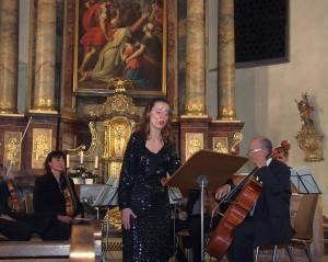 3567 - Koloratursopranistin Vera Trifanova aus Moskau