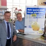 Wahlkampf kurios: FDP-Fraktionschef Kalischko führt Liste an: Von HINTEN!
