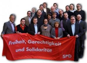 3596 - SPD Sandhausen Wahlkampfbild