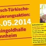 4. Mai: Typisierungsaktion für türkischstämmige Mitbürger in Mannheim