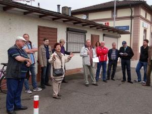 3611 - Begehung Bahnhofstrasse CDU 1