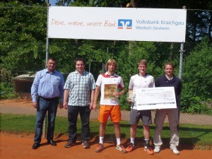 3672 - Tennis Hardtwald-Cup Siegerehrung 1