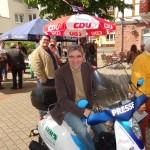 CDU Jazzfrühschoppen bei strahlend blauem Himmel – MdB Dr. Harbarth zu Gast