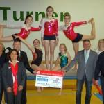 Gemeinsame Trikotspende dreier BdS-Mitglieder für KuSG Turnerinnen