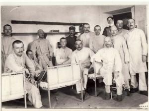 3692 - Vereinslazarett Krankenzimmer