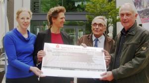 3704 - Spendenscheck