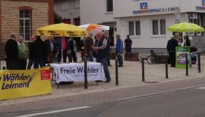 3706 - Wahlkampf Stände Alte Fabrik Dilje 3