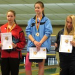 Celina Mahl wird 2. bei den Landes- Meisterschaften der Jugend