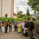 Begehung des Leimener Stadtkerns mit der CDU