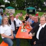 Menzerparkfest der GALL gut besucht mit Musik von Troubadouren und Musikschule