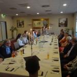 Leimen-aktiv im BdS begrüßt drei neue Mitglieder beim Spargelessen