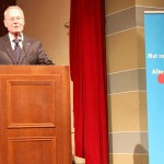 MdEP in spe: Wahlkampfauftritt von Hans-Olaf Henkel in der Stadthalle Heidelberg