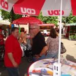 3762 - Wahlkampf auf dem Wochenmarkt 1