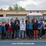 DLRG-Jugend besucht Berufsfeuerwehr Heidelberg