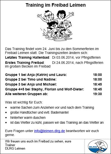 Sommertrainingsplan2014