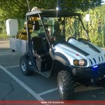 DRK Leimen stellt MERV (Mini Emergency Response Vehicle) in Dienst