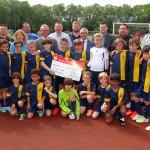 Sparkasse unterstützt VfB Leimen mit Jubiläumsspende – 100 Jahre – 1.000 €