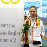 Kegeln – DSKC Frisch Auf Leimen: Celina Mahl gewinnt Deutsche U18 Meisterschaft