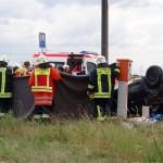Schwerer Unfall L600 / L598 am Umspannwerk: Mehrere Verletzte