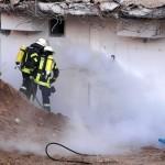 """Rathaus-Neubau: """"Versteckter Brand"""" in Dehnungsfuge – Feuerwehr löschte mit CO2"""