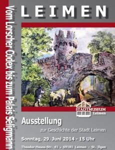 3873 - Plakat Heimatmuseum