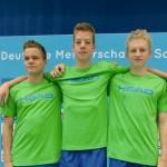 Neptun Toptalente Böpple, Rau und Tabor erfolgreich bei den Deutschen Meisterschaften