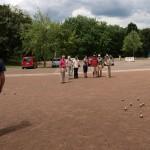 "Gauangellocher ""Boulevardiers"" nahmen am 1. Krifteler Boule-Turnier teil"