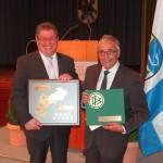 Festakt in der Zementwerk-Festhalle zum 100-jährigen Jubiläum des VfB Leimen