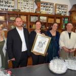 """Ausstellung """"Leimen vom Lorscher Codex bis zum Palais Seligmann"""" eröffnet"""