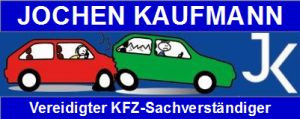 Kaufmann Banner 300x120 blau Schrift oben und unten