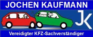 Kaufmann Banner 300x120 blau Schrift oben und unten