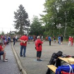 Ligaspieltag Boulevardiers: 120 Personen auf dem Platz und man hört sie kaum!