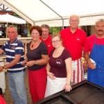 Guter Platz: Sommerfest des SPD auf dem hinteren Georgi-Marktplatz