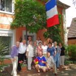 Städtepartnerschaft privat: Überraschungs-Visite aus Tinqueux in Leimen