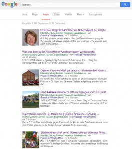 3969 - Google-News Suchwort Leimen