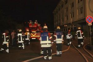 4001 - Hotelbrand Wiesloch - Bilder Alfred Arnold - Wiwa-Lokal - 1