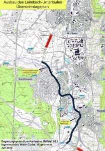 4007 - Leimbach Unterlauf Karte