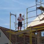 """Baufinanz feiert Richtfest in der """"Burgstr. 9"""" Sandhausen: 2 Häuser, 8 Wohnungen"""