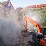 Derzeit in St. Ilgen: Der Deutsche Kaiser wird vom Biergarten aus abgerissen