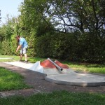 Gleber mit Superleistung neuer Minigolf-Clubmeister